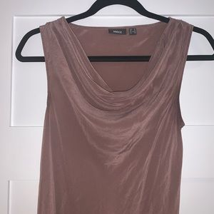 Mexx pure silk pink blouse sleeveless